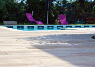 Aménagement terrasse de piscine