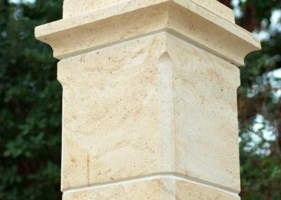 Fabrication de piliers