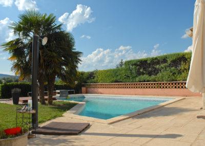 Aménagement extérieur d'une piscine