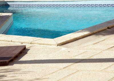 Margelle de piscine